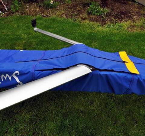 1x Boat Cover with Rigger Flaps