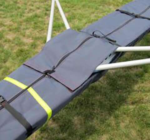 2x Boat Cover with Rigger Flaps